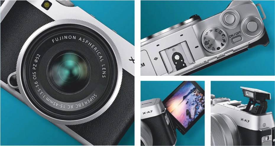 Fujifilm X-A7 vs Sony a6100
